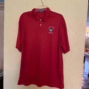 Nike Men's Red polo shirt S.Fl Senors XL